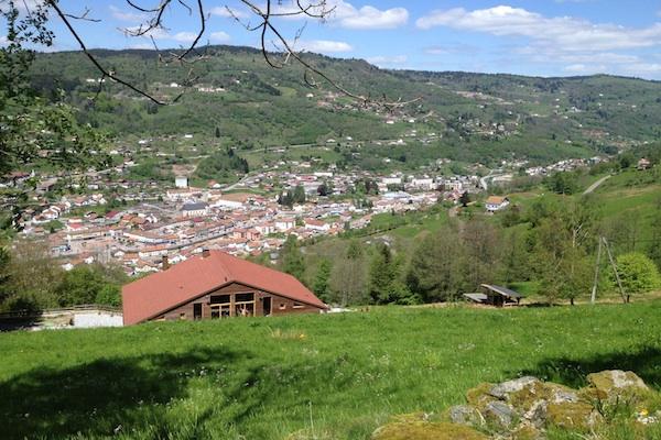 Photo vallée la bresse et gîte